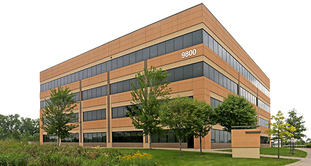 New Jersey-based Cantel Medical Corp. bought the former Select Comfort Corp. headquarters in Plymouth last September. Now the company is planning new training and R&D centers at the site, with grant support from the state. (Submitted photo: CoStar Group)