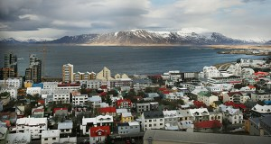 This April 2016 photo shows downtown Reykjavik. While hundreds of new luxury apartments remain empty in Iceland, the country also faces a lack of affordable housing. (Bloomberg file photo)