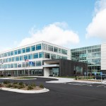 Prime's glass-wrapped building at 2900 Ames Crossing Road in Eagan could eventually hold more than 3,300 employees. (Submitted photo: Prime Therapeutics)