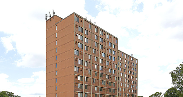 St. Paul-based CommonBond Communities paid St. Paul-based Real Estate Equities $9.9 million for the renovated, 136-unit Wilder Square apartments at 750 Milton St. N. in St. Paul. (Submitted photo: CoStar)