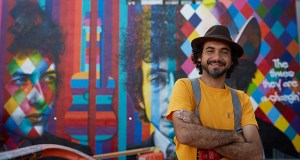 There are more than 81,000 creative workers in the Twin Cities, from artists to advertising executives, according to the 2018 Minneapolis Creative Index report. This photo shows Eduardo Kobra and his Bob Dylan mural on Hennepin Avenue in downtown Minneapolis. (Submitted photo: Bill Hickey, courtesy of Meet Minneapolis)