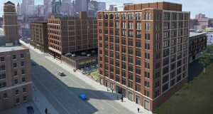 Galley Group will operate a food hall at The Nordic at 729 Washington Ave. N. in Minneapolis. Digital marketing agency Ovative/group and WeWork are the other announced tenants in the 200,000-square-foot building. (Submitted illustration: United Properties)