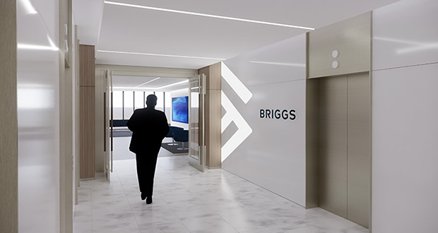 Briggs and Morgan's offices at the IDS Center. (Submitted illustration: NELSON)