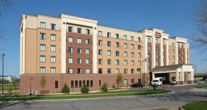 A 146-room Hampton Inn at 2860 Metro Drive in Bloomington is one of two Bloomington hotels Chicago-based Arbor Lodging purchased as part of a larger portfolio. (Submitted photo: CoStar)