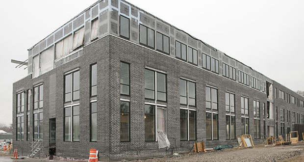 The 65,000-square-foot Leef Building at 201 Irving Ave. N. in Minneapolis already has interest from enough tenants to fill most of the building. (Staff photo: Matt M. Johnson)