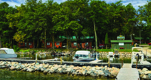 An Illinois family has paid $2.5 million for the Acorn Hill Resort at 4691 Acorn Hill Lane NW in Walker, on Leech Lake. (Submitted photo: Acorn Hill Resort)