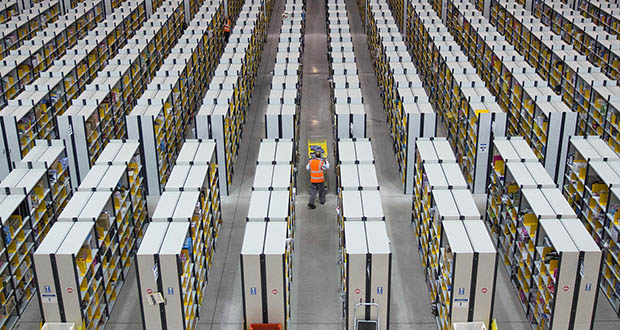 Blackstone Group agreed to pay $18.7 billion for 179 million square feet of urban warehouses. The rise of Amazon and other e-commerce companies has increased the need for warehouse space by retailers seeking to expand their digital operations and cut delivery times. (Bloomberg file photo)
