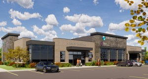 Midwest ENT will occupy all the space in a one-story medical office building Davis plans to build in Woodbury's CityPlace. (Submitted illustration: Davis)