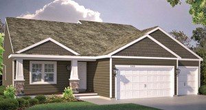 D.R. Horton's Express Homes planned in a new Rosemount subdivision will include floorplans ranging between about 1,500 and 2,500 square feet of space. (Submitted illustration: D.R. Horton)