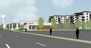 Apartments planned for 7001 France Ave. S. are the tallest buildings in a redevelopment plan for the 5.8-acre site. Edina Planning Commission members criticized the plan Wednesday for being not tall enough in some places. (Submitted illustration: Ryan Cos. US Inc.)