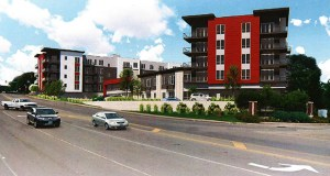 Inland Development Partners' Parker Station Flats is one of two projects by the Wayzata company to receive contamination cleanup grants from the state, officials announced Wednesday. All told the Department of Employment and Economic Development approved 15 grants totaling more than $3.4 million. (Submitted image: Urbanworks)