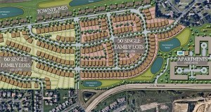 Summergate Development has proposed building nearly 700 new housing units on this farm property between 17th Avenue East and Highway 169 in Shakopee. (Submitted photo)