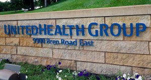 This July 12 photo shows the UnitedHealth Group headquarters in Minnetonka. (AP photo: Jim Mone)