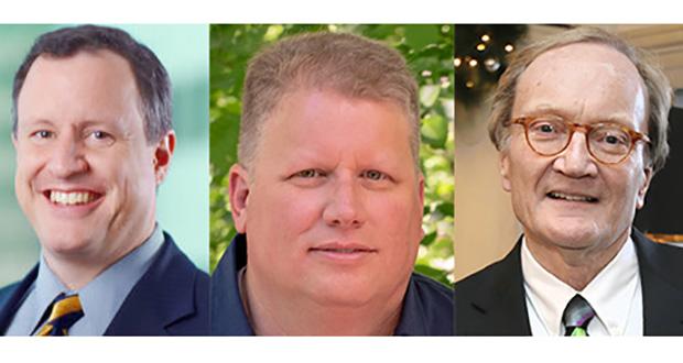 Brendan Cummins, Dan McConnell, Judge Donovan Frank