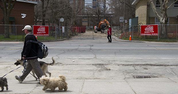 This 2014 photo shows Toronto's Regent Park under development. The Daniels Corp. is the lead developer on Regent Park's transformation.