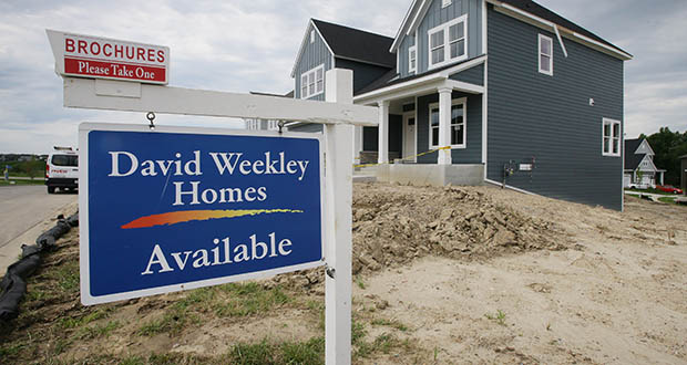 Newly built homes are for sale in Plymouth at The Pines at Elm Creek by David Weekley Homes. (Photo: Bill Klotz, special to Finance & Commerce)