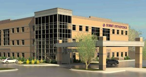 Chicago-based investor Harrison Street has added Summit Orthopedics' Eagan surgery center at 2620 Eagan Woods Drive in Eagan to its portfolio of Twin Cities properties. (Submitted illustration: Pope Architects)