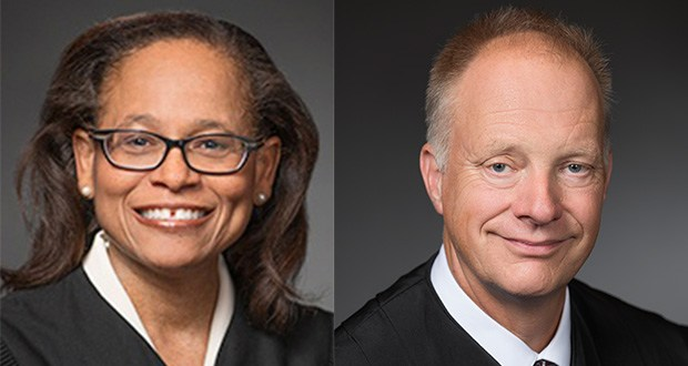Justice Natalie Hudson, Justice G. Barry Anderson