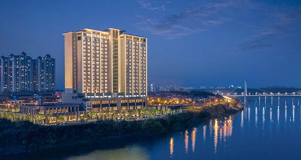 Hyatt Regency Zhuzhou in Central China (AP file photo)