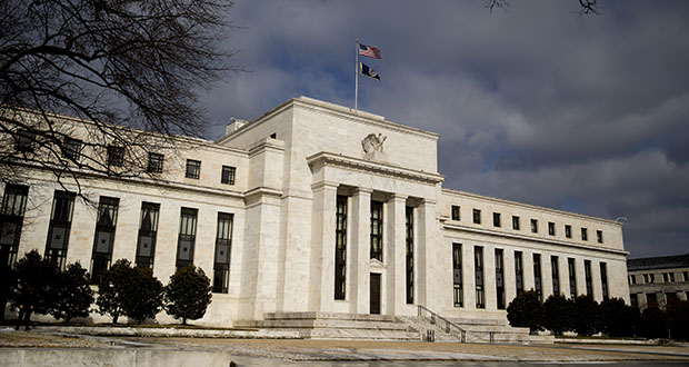 Falling expectations for consumer-price growth, plunging bond rates and flatter yield curves all point to mounting doubts in financial markets over whether monetary policy makers like the U.S. Federal Reserve have what it takes to reflate their economies and avert a global recession. (Bloomberg file photo)