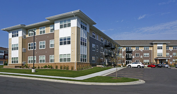 The 209-unit Eastwood Ridge Apartments at 3031 Towne Club Parkway SE are now part of a Timberland Partners portfolio containing about 16,000 apartments. (Submitted photo: CoStar)
