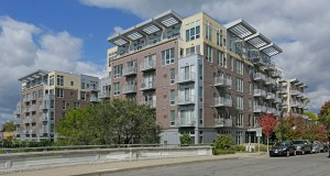 The 216-unit Flux apartments at 2838 Fremont Ave. S. in Minneapolis cost about $38 million to build in 2012. (Submitted photo: CoStar)