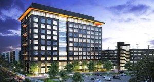 The 10 West End office tower planned for the West End in St. Louis Park has yet to attract a tenant to sign a lease but will start construction on Monday. (Submitted photo: Ryan Cos. US Inc.)
