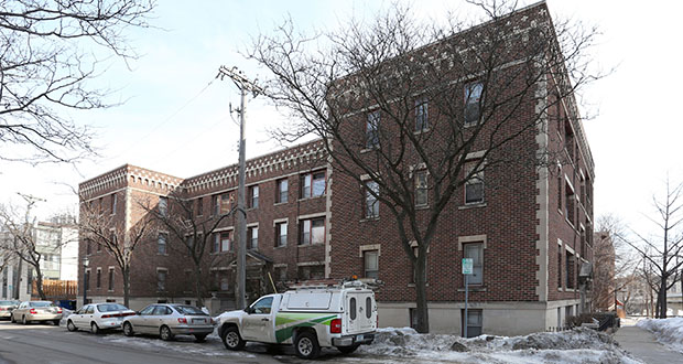 Minneapolis-based Hornig Companies has paid $17 million for a portfolio of small apartment properties, including the Greystone Apartments at 1785 Bryant Ave. S. (Submitted photo: CoStar)