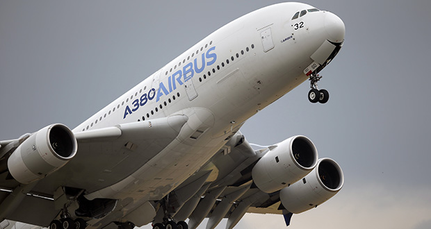 The World Trade Organization says the United States can impose tariffs on up to $7.5 billion worth of goods from the European Union as retaliation for illegal subsidies to European plane-maker Airbus. (AP file photo)