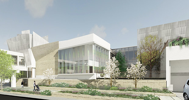 Westminster Presbyterian Church spent more than $80 million removing and rebuilding buildings and skyways in its downtown Minneapolis space. (Submitted rendering: James Dayton Design)