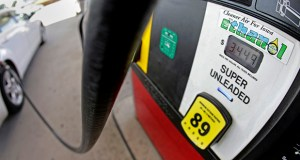In this July 26, 2013, photo, a motorist fills up with gasoline containing ethanol in Des Moines. (AP file photo)