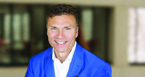 Eric Hamborg is a MOBE co-founder and the company's chief commercial officer. (Submitted photo: Mobe)