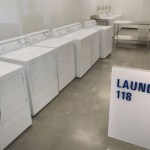 The opportunity center has a laundry for use by non-residents visitors to Dorothy Day Place. (Photo: Bill Klotz/Special to Finance & Commerce)
