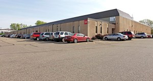 Fargo, North Dakota-based Sterling Office and Industrial Trust has paid $5.765 million for the Woodbury Technology Center in Woodbury, a 69,600-square-foot industrial building at 1865 Woodlane Drive in Woodbury. (Submitted photo: CoStar)