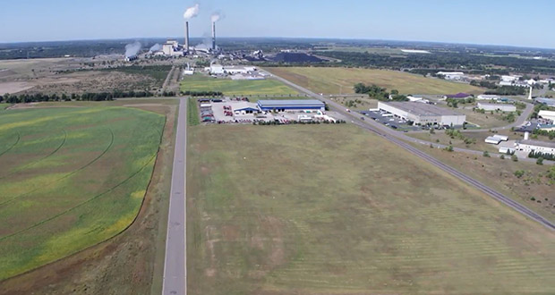 Becker is seeking industrial users for 67 acres of city-owned land in its industrial park, the first such property in the state to receive predevelopment certifications from DEED, Xcel Energy and BNSF Railroad. (Submitted image: City of Becker)