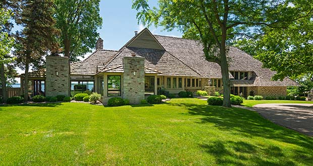 This year the second-place spot went to the $5.75 million sale of a four-bedroom, four-bath, 5,842-square-foot home at 578 Harrington Road in Wayzata. The new owners have applied to the city to tear down and rebuild on the site. (Submitted photo: Spacecrafting)