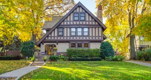 Designed by architect Clarence Johnston, completed in 1912 and updated over more than a century, this historic Tudor-Revival home at 2010 Summit Ave. in St. Paul has sold for $1.395 million. (Submitted photo: Lake Street Photography)