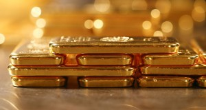 Spot gold -- which last traded at about $1,467 an ounce -- is up 14% so far this year, on course for the third annual gain in the past four years. (Bloomberg file photo)
