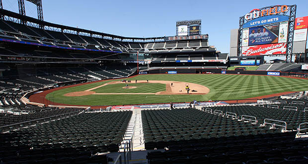 Even with public backing, stadium projects can turn into money pits for sports owners, who have a hard time resisting expensive materials and last-minute design changes, said Richard Browne, who manages real estate with New York Mets owner Jeff Wilpon. To avoid that path at new Mets stadium Citi Field, which opened in 2009, he put a poster on his office wall instructing employees that if they wanted to make a change to the stadium plans, they'd have to clear the cost with Wilpon. (Bloomberg file photo)