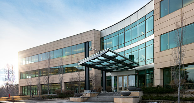 Dominium plans to move its more than 200 headquarters employees to the Crest Ridge Corporate Center at 11055 Wayzata Blvd. in Minnetonka. (Submitted photo: CoStar Group)