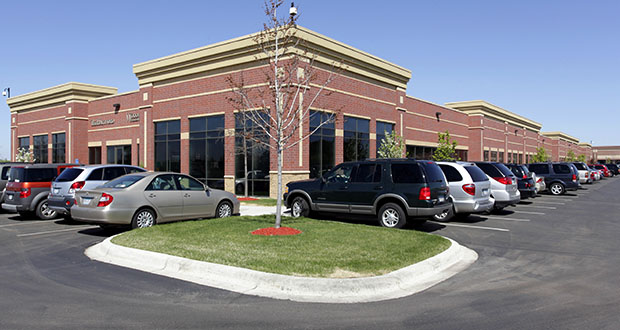 The Oaks Office Center at 7755 Third St. N. is one of two Oakdale office properties sold last week by Carlson. The 60,000-square-foot building was built in 2007. (Submitted photo: CoStar Group)