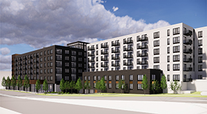 Vision Loss Resources has chosen a 241-unit proposal by LMC, a Lennar subsidiary, to redevelop its property on the corner of Lyndale and Franklin in Minneapolis. (File photo: Bill Klotz)