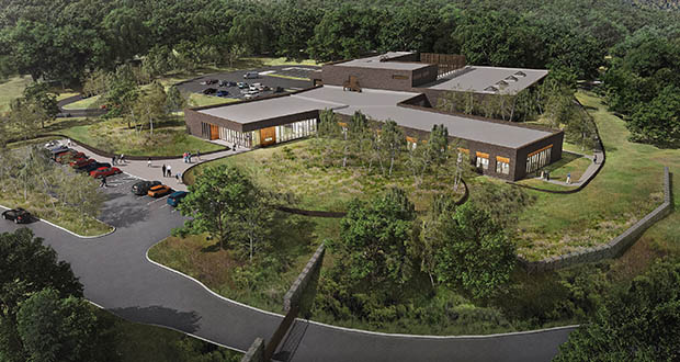 Hennepin County has awarded a $36.8 million construction bid to Knutson Construction for this new medical examiner facility in Minnetonka. (Submitted rendering: Leo A Daly)