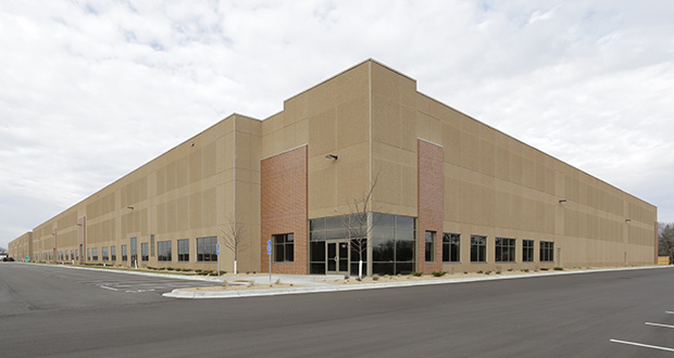 Arrowhead Electrical Products leases all 248,816 square feet of 3705 95th Ave. NE in Blaine. United Properties sold the building for more than $21 million in 2019. (Submitted photo: CoStar)