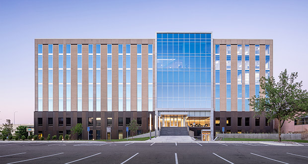 The West End Center is the second-largest building in the West End Office Park at about 198,000 square feet of space. It is also the oldest, completed in 1968. (Submitted photo)