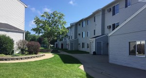 Rochester's Eastridge Estates apartments were built in 1975 at 2009 17th St. SE. and are located immediately north of the city's Longfellow Elementary School. (Submitted photo: Vitus)