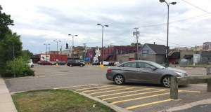 The Garfield Lot public parking facility in the 2900 block of Lyndale Avenue is slated for redevelopment, but not all the parking that comes with the surface lot would be lost. Seventy-five public parking stalls must be incorporated into any future project. (Submitted photo: CoStar)