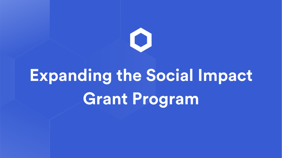 Accelerating Social Impact with the Chainlink Grants Program
