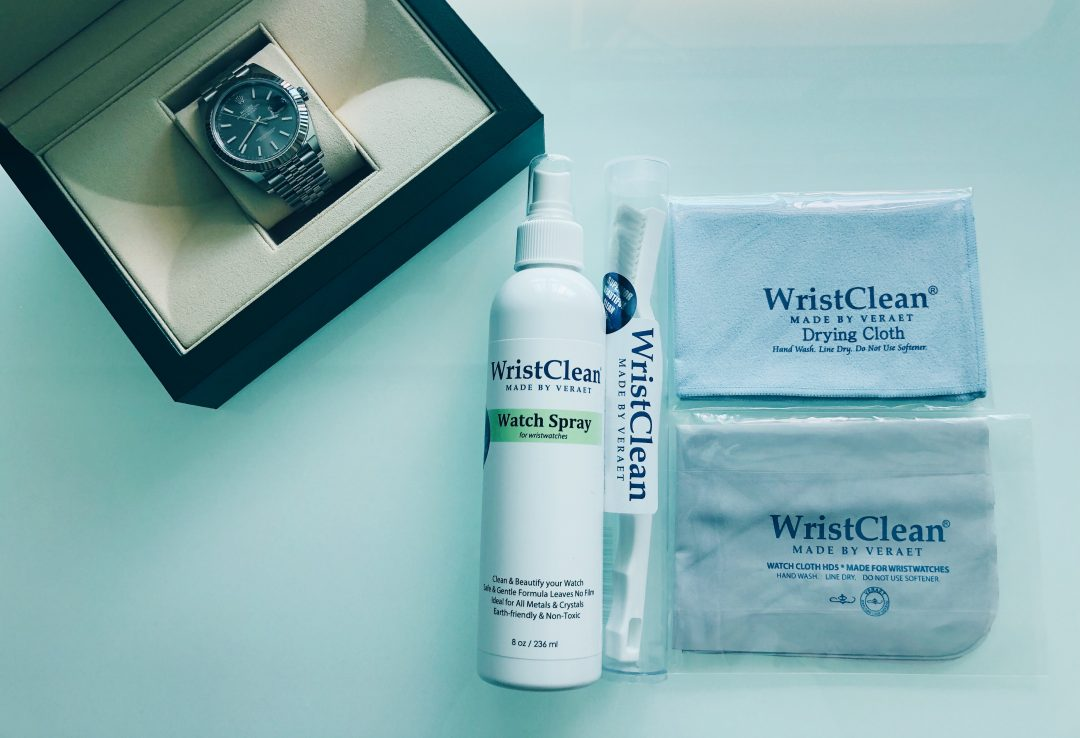 Premium Watch Care: WristClean Review (by Veraet)