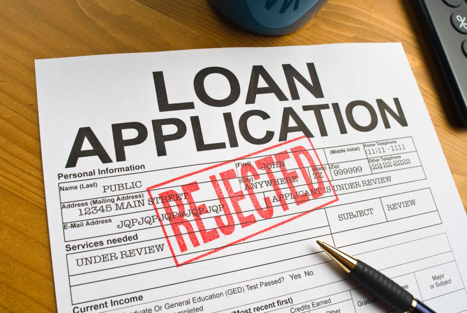 Image result for loan declined""
